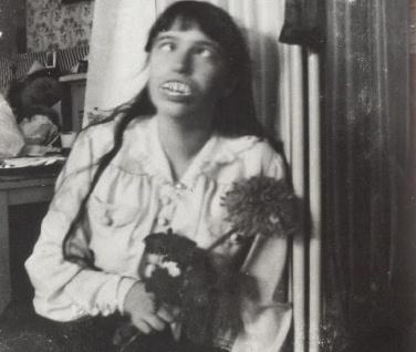 Anastasia - making a face