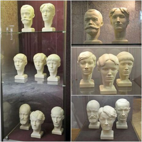 Facial Reconstruction Busts