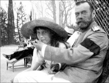 Anastasia and Nicholas II