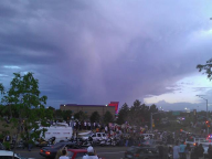 Angel at the Aurora Vigil