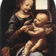 Da Vinci - Madonna and Child