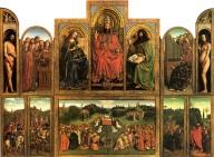 Ghent Altarpiece - Van Eyck