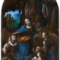 Da Vinci - Virgin of the Rocks