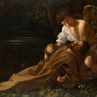 Caravaggio - St Francis